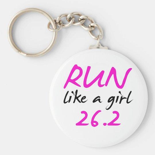 runlikeagirl26 basic round button key ring