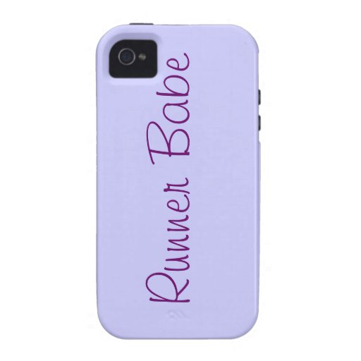 Runner Babe iPhone 4 Covers