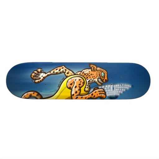 Runner Cheetah Skate Boards