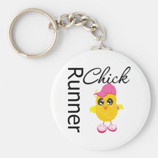 Runner Chick Keychains