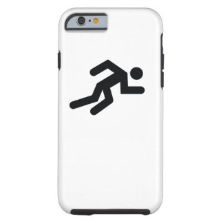 RUNNER | cool sport icon Tough iPhone 6 Case