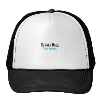 Runner Dude Stride and Abide Mesh Hats