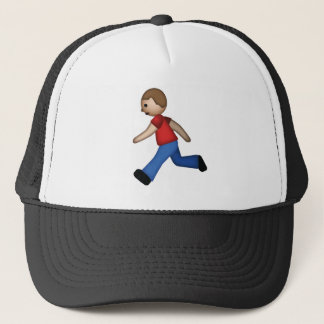 Runner Emoji Trucker Hat
