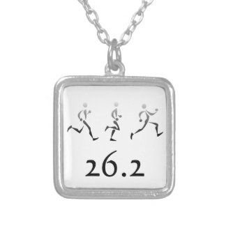 Runner Gifts Silver Plated Necklace