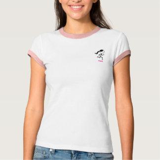 Runner Girl Ringer T-shirt