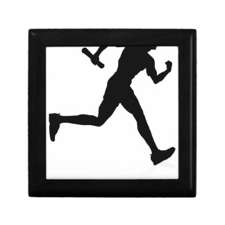 Runner Graduate Education Concept Gift Box