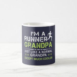 RUNNER GRANDPA COFFEE MUG