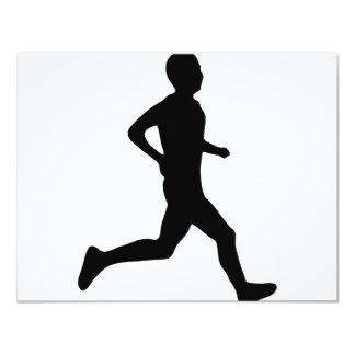 runner icon card