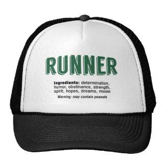 Runner Ingredients Cap