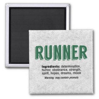 Runner Ingredients Magnet