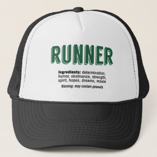 Runner Ingredients Trucker Hat