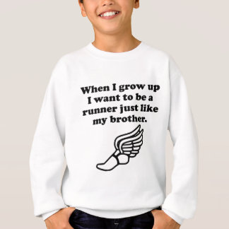 Runner Like My Brother Sweatshirt