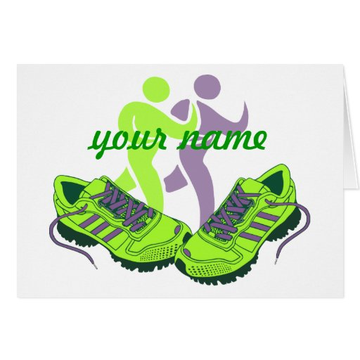 Runner Personalized Cards