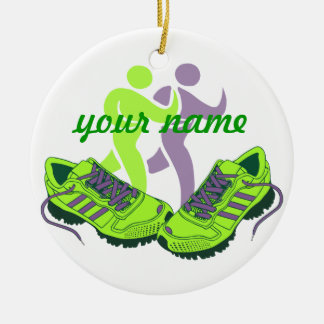 Runner Personalized Christmas Ornament