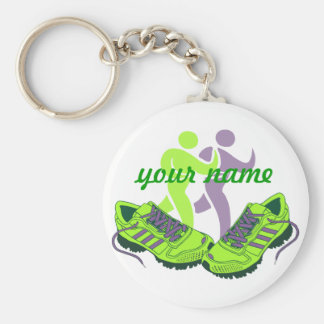 Runner Personalized Key Ring