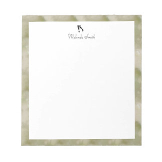 Runner. Personalized Notepad