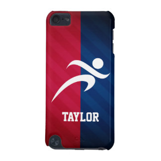 Runner; Red, White, and Blue iPod Touch (5th Generation) Cases