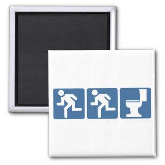 Runner-Runner Flush Square Magnet