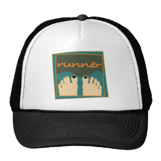 Runner Toes Hat