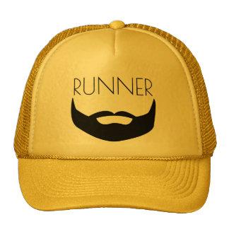 RUNNER WITH BEARD CAP