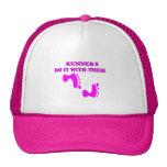 RUNNER'S DO IT WITH FEET CAP TRUCKER HATS