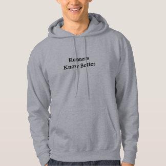 Runners Know Better Hooded Sweatshirt