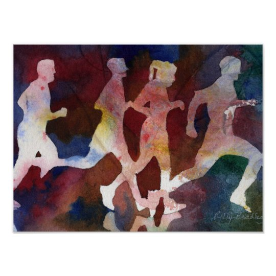 Runners Poster