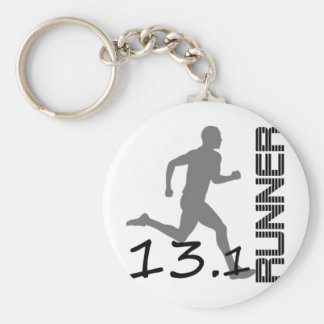 Runners Zone Half Marathon gifts and apparel Key Chain
