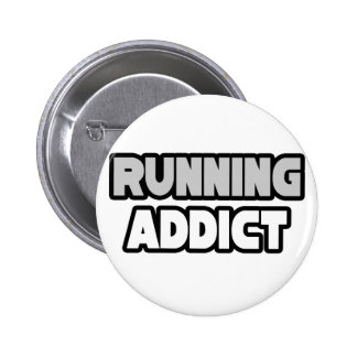 Running Addict 6 Cm Round Badge