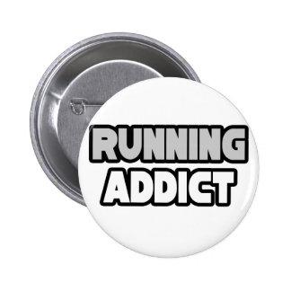 Running Addict 6 Cm Round Badge