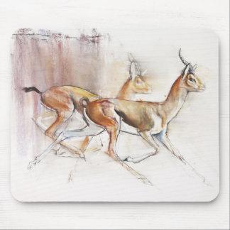 Running Arabian Gazelles 2010 Mouse Mat