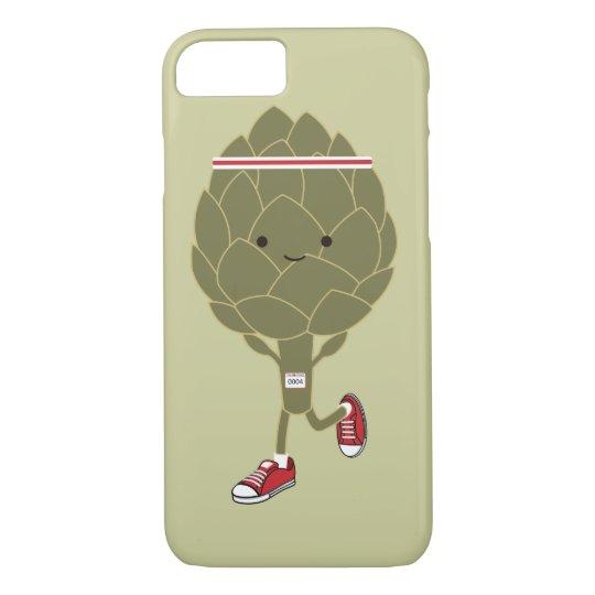 Running Artichoke iPhone 8/7 Case