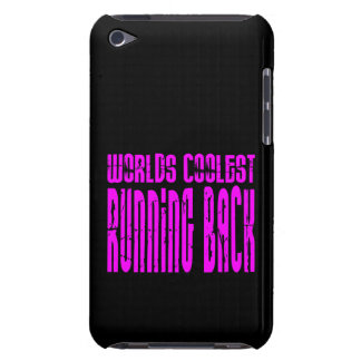 Running Backs Pink Worlds Coolest Running Back iPod Touch Cover