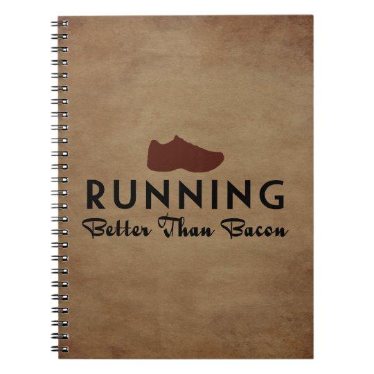 Running Better Than Bacon Notebooks