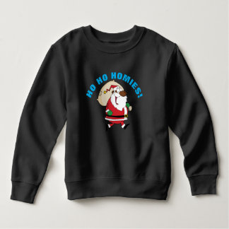 Running Black Santa Shirt