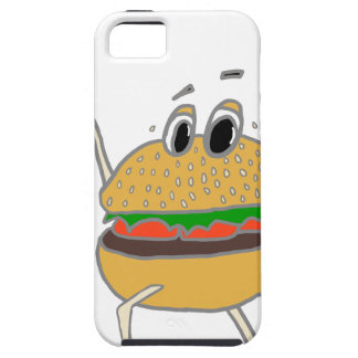 running burger iPhone 5 cover