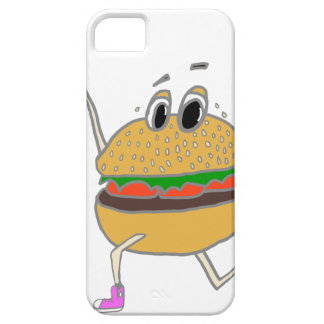 running burger iPhone 5 covers