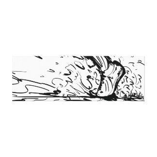 Running By Kevin Haring Canvas Print