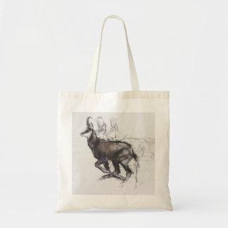 Running Chamois Tote Bag