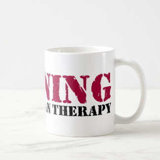 Running - Cheaper than therapy Basic White Mug
