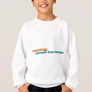 Running: Cheaper Than Therapy Sweatshirt