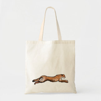 Running Cheetah Art Bag