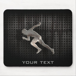 Running; Cool Mouse Mat
