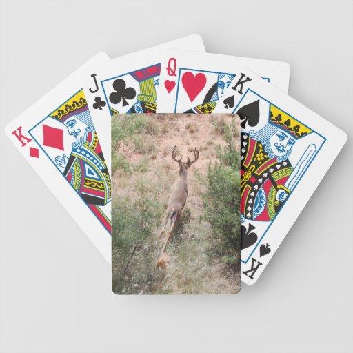 Running Deer Bicycle Card Deck