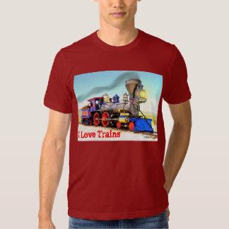 Running Down The Tracks Shirts