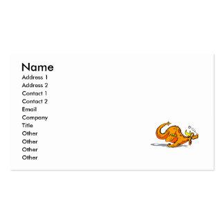 Running Dragon Business Card Template