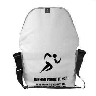 Running Etiquette Commuter Bag