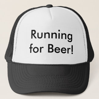 Running for Beer! Trucker Hat