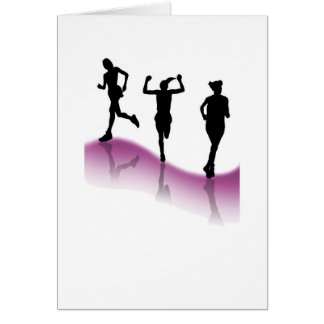 Running for Life 2 Greeting Card