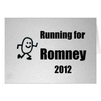 Running for Romney, 2012 Greeting Card